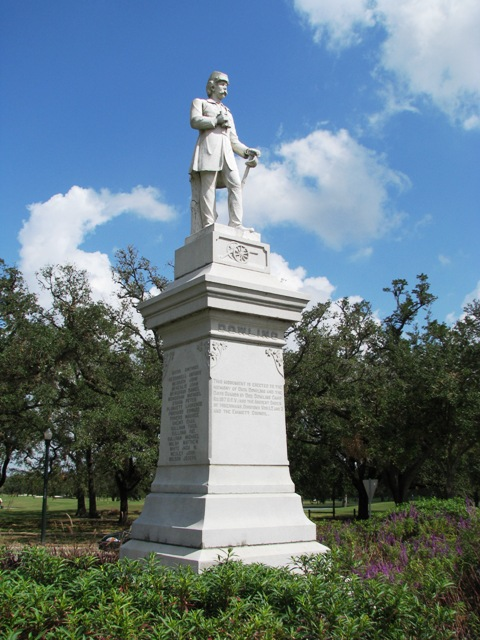 Dick dowling statue in houston